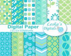 Digital Scrapbooking Papers @creativework247