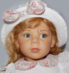 Трогательная девочка Алиса (Alice) от Elisabeth Lindner / Коллекционные куклы Elisabeth Lindner, Элизабет Линднер / Бэйбики. Куклы фото. Одежда для кукол