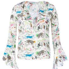 Rixo | Wolf & Badger #shirt #animalprint