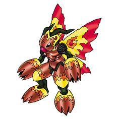 Shadramon - Wormmon Armor Digivolution through the Digi-Egg of Courage