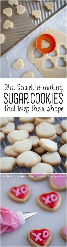 Finally, the secret to making sugar cookies that keep their shape during baking!