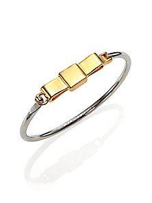 Marc by Marc Jacobs - Medium Bow Tie Bangle Bracelet - Saks Fifth Avenue Mobile