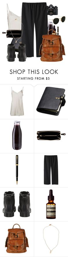 """""""Untitled #1005"""" by shanika-w ❤ liked on Polyvore featuring Nikon, Beautiful People, Mulberry, Daylesford, Nomadic, Parker, La Garçonne Moderne, Dr. Martens, Aesop and VIPARO"""