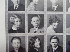 1928 BEN ALEXANDER All Quiet On The Western Front Hollywood High School YEARBOOK