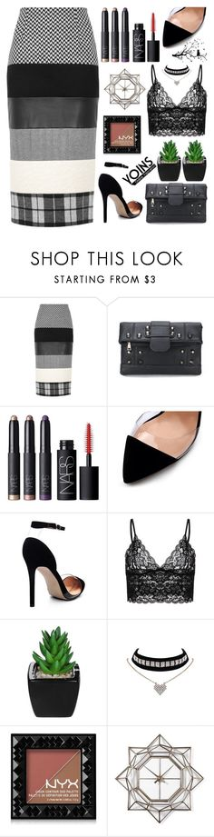 """Yoins (17)"" by itsybitsy62 ❤ liked on Polyvore featuring MaxMara, NARS Cosmetics, NYX, WALL, yoins, yoinscollection and loveyoins"