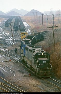 RailPictures.Net Photo: CR 7814 Conrail EMD GP38 at Ashtabula, Ohio by Bill Edgar