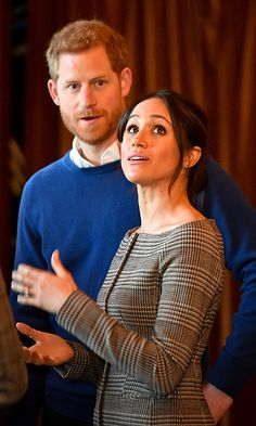 Prince Harry and Meghan admired the interior of the banquet hall in Cardiff Castle. Photo: © Ben Birchall - WPA Pool / Getty Images