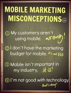 Mobile Marketing Misconceptions