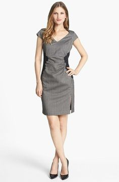 Lace sheath dress - perfect for the work!