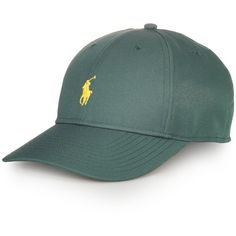 Polo Ralph Lauren Baseline Hat ($26) ❤ liked on Polyvore featuring mens, men's accessories, men's hats and new forest green