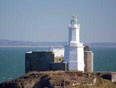 (Taken from Lighthouses of Wales photo by Scott Dexter) Swansea Bay, Swansea Wales, Wales Uk, Listed Building, Cymru, Rock Pools, Water Tower, Dark Places, Willis Tower
