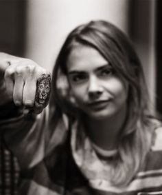 A new book tells the rags-to-riches story of Bang Bang, the A-list's favorite tattoo artist. Pictured here: Cara Delevingne.