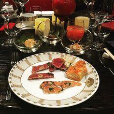 #buddhabar #prague #brunch #weloveit #tuna #salmon #beef #tataki and #tartar #prawns #kimchi by kasumisha