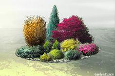 Projekt ogrodu:klomb2Soś - Wiosna
