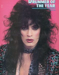 """the–blackdahlia: """"Good Morning Crueheads! Today is Tommy Tuesday! Today's theme: Drums The Motley Crew: 80s Hair Metal, Hair Metal Bands, Hair Bands, Nikki Sixx, Tommy Lee Motley Crue, Mick Mars, Vince Neil, Glam Metal, Historical Women"""