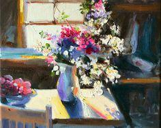 Original painting of VELDBLOMMETJIES, wild flowers, kitchen art,Classic still life, oil on canvas, painting, art