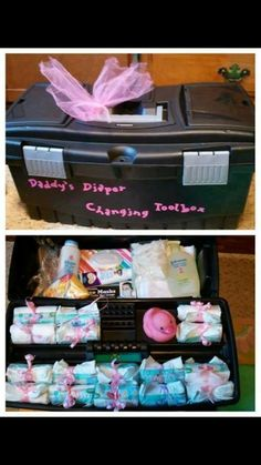 Cute gift set for a new dad