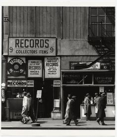 Todd Webb: Sixth Avenue between 43rd and 44th Streets. New York City, 1948. Photographic Distractions