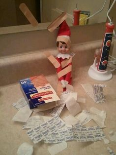 First aid kit elf