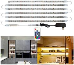 Under Counter Lights Flexible LED Light Strip Stick-on Anywhere Di... Upgrade