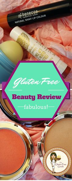 Gluten Free Beauty Review Benecos, Pacifia and IT cosmetics