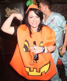 X Factor's Lucy Spraggan in her Halloween get-up
