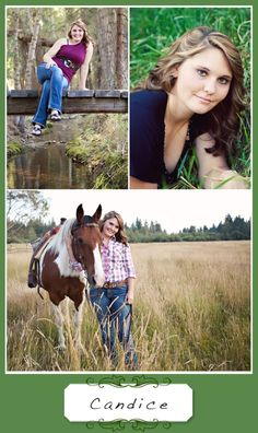A while back I mentioned that I was going to be taking senior pictures for some of the girls from our local high school. Farm Senior Pictures, Senior Pictures Sports, Senior Pics, Horse Photography, Wedding Photography, Photography Ideas, Senior Picture Outfits, Thing 1, Boy Dog