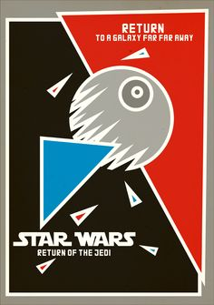 Constructivist Star Wars Poster  Created by Marcio Rodrigues