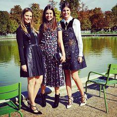Fernanda, Amanda e Mariana Cassou em Paris na PFW, Valentino, Spring-Summer 2016 Ready-to-Wear