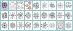 Mandala Coloring Pages by Thaneeya