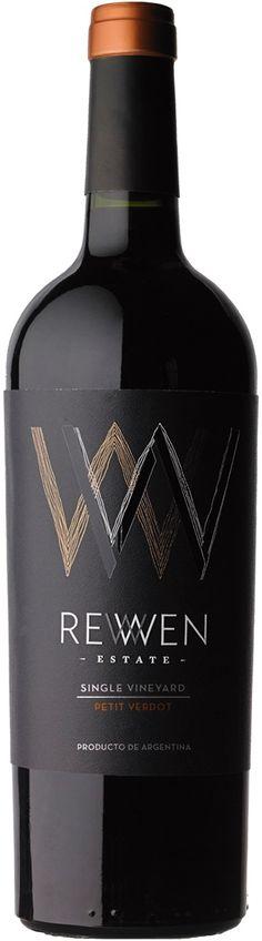 """""""Single Vineyard"""" Petit Verdot 2012 - Rewen Estate, San Carlos, Mendoza--------------------- Terroir: Agrelo--------------------------- Crianza: 9 meses en barricas de roble francés (75%) y roble americano (25%)"""