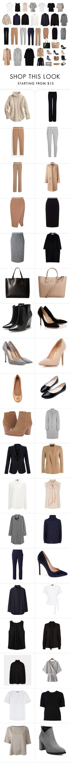 """""""Year-Round Capsule Wardrobe"""" by laurebrenn on Polyvore featuring STELLA McCARTNEY, White House Black Market, DKNY, Rochas, Roland Mouret, RED Valentino, Marni, Kenneth Cole Reaction, MANGO and Rupert Sanderson"""