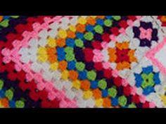 Resultado de imagen de hacer un pico o poncho con grannys de crochet