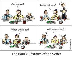 JR's Humor Pages - Passover - The Four Questions of the Seder