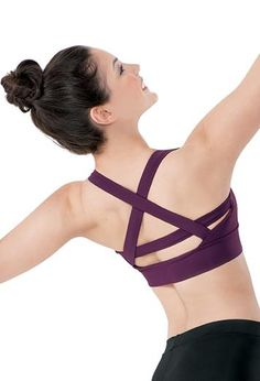Strappy Back Crop Top - Balera #SadieJane and #PintoWin