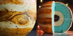 The most delicious way to learn about the solar system - jupiter cake by an Australian baker