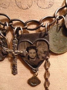 Vintage Charms, necklace from A Vintage Green Life