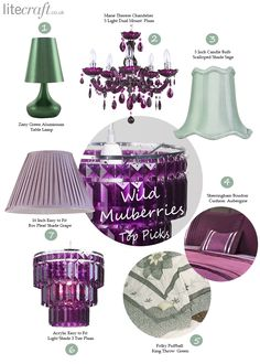 In case you are looking for some inspiration on pairing hues we have a pretty succulent and bright colour duo for you to look at, Purple green interiors Green Color Schemes, Green Colors, Bright Purple, Paint Colours, Colorful Interiors, Decorative Bells, Lighting, Creative, Inspiration