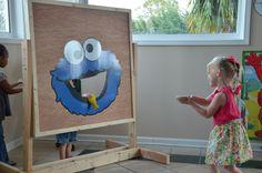Cookie Monster Cookie Toss