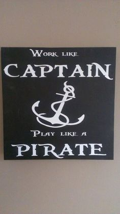 Pirate Decor by WordArtTreasures on Etsy, $16.00
