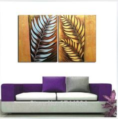 How about adorning your office or home with this: 2-Pieces Silver a... Check it out here! http://momplusbusiness.com/products/2-pieces-silver-and-gold-leaves-oil-painting-wffl?utm_campaign=social_autopilot&utm_source=pin&utm_medium=pin