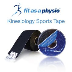 Buy 1 Black Roll of Kinesiology Sports Tape Online  | Great Price | Fast Delivery | Guaranteed Quality | Friendly Service