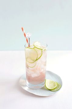 [recipe] Lime Rosé Spritzer Makes 2 1 cup chilled, dry rosé wine 2 ounces St. Germaine (elderflower liqueur) juice of 1/2 lime ice seltzer water lime slice for garnish In a measuring glass combine the rosé, St. Germain, and lime … Continue reading →