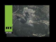 Nuevas imágenes de los ataques rusos en Siria contra el Estado Islámico