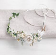Child Flower crown Flower girl Floral crown Rustic child