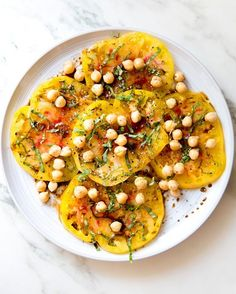// tomato and chickpea salad