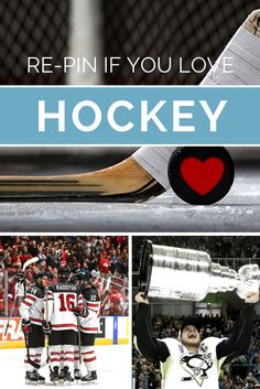 We love the game of hockey, do you!? Pond hockey, Stanley Cup championships, olympic medals, first overall draft picks, over time game winning goals, it is all part of the game! #ice #hockey #puck #goal #NHL