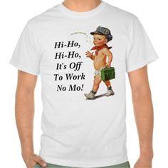T-shirt Retro Vintage Hi-Ho Retirement Gift Tee T-Shirt, Hoodie for Men