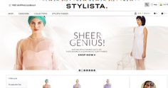Stylista is an Online Fashion Store for Women : Visit website - http://stylista.com/