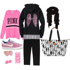 """""""Victoria's Secret Outfit"""" by hannahtaylor93 on Polyvore"""